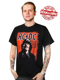 AC/DC Silly Face T-Shirt Angus - Limited Edition Exklusiv bei KULTFAKTOR GmbH