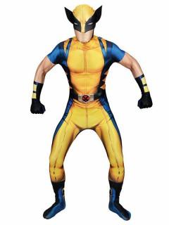 Marvel Wolverine Morphsuit™ Lizenzware blau-gelb-schwarz