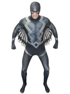 Morphsuit™ Marvel Black Bolt Lizenzware schwarz-grau-weiss