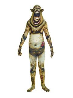 Beulenpest-Kinderkostüm Morphsuit™ Halloweenkostüm grün