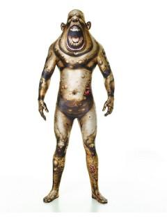 Beulenpest Monsterkostüm Morphsuit™ Halloween grün