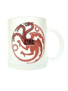 Game of Thrones-Tasse Lizenzartikel weiss-rot 320ml