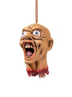 Abgehackter Kopf zum Aufhängen Halloween-Deko haut-rot 15cm