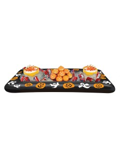 Aufblasbares Halloween-Tablett Party-Deko bunt 71x136cm