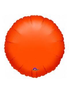 Folienballon Luftballon Halloween Party-Deko orange 45cm