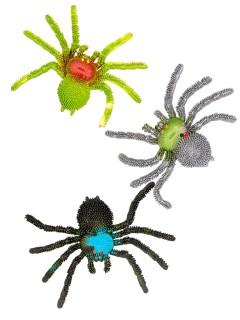 Deko-Spinne Vogelspinne Halloween bunt 15x10x2cm