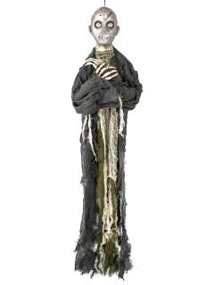 Psycho-Killer Halloween-Hängedeko grün-beige 90cm