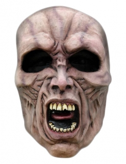 Latexmaske World War Z™ Horrormaske haut-schwarz