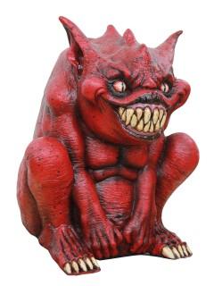 Teufel-Figur Party-Deko rot 33x30x22cm