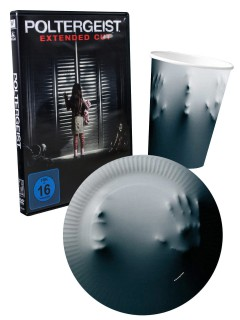 Poltergeist Halloween Party Deko Set 21-teilig bunt (Bundle)