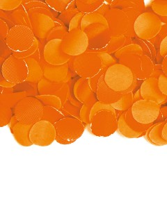 Papier-Konfetti Halloween-Dekoration orange