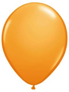 Luftballons 10 Stück metallic-orange 30cm