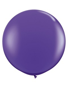 Riesiger Luftballon XXL lila 90cm