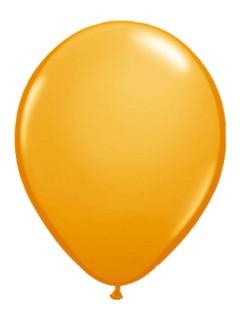 Luftballons 10 Stück orange 30cm