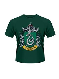 Harry Potter Slytherin T-Shirt Lizenzartikel grün-grau