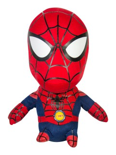 Spiderman™-Stoffpuppe Marvel™ Lizenzprodukt rot-blau 20cm