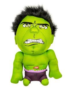 Hulk™-Plüschfigur Marvel™-Lizenzprodukt grün-violett 20cm