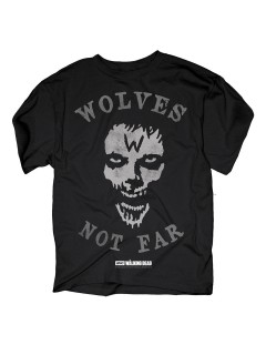 The Walking Dead T-Shirt Wolves not far Lizenzware schwarz-grau
