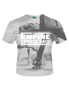 Star Wars™ T-Shirt Lizenzartikel The Empire strikes back™ grau