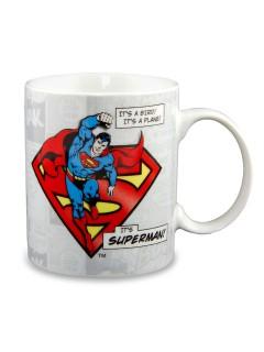 Superman™-Kaffeetasse DC™ Lizenzprodukt bunt