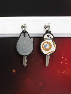 Star Wars™ Episode VII-Schlüsselkappe 2 Stück bunt