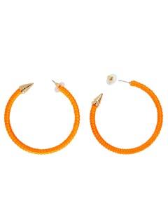 Ohrringe Disco für Damen orange