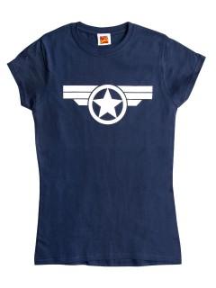 Steve Rogers™-Shirt Marvel™ blau-weiss