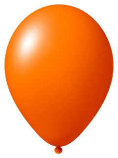 Luftballon-Set 24 Stück orange 33cm