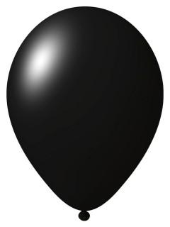 Luftballons 24 Stück schwarz 33cm