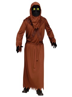 Unheimlicher Dämon Halloweenkostüm braun