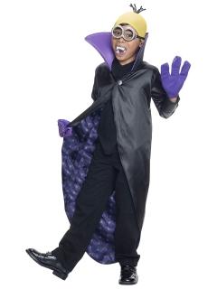 Minion™-Dracula Kinderkostüm schwarz-lila