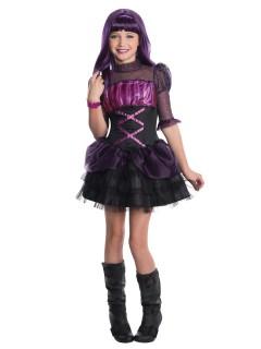 Monster High Elissabat Kinderkostüm Lizenzware schwarz-lila