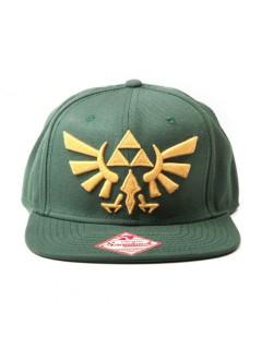 Zelda Schildmütze Lizenzware grün-gelb