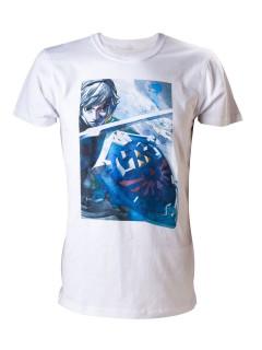 Zelda Link T-Shirt Lizenzware weiss-bunt