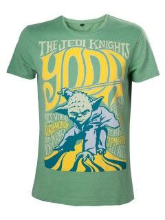 Star Wars Yoda The Jedi Knights T-Shirt Lizenzware grün