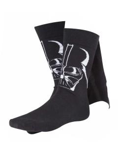 Star Wars Darth Vader Kniestrümpfe Lizenzware schwarz