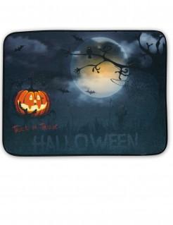 Halloween-Fußmatte mit Leucht- und Soundfunktion grau