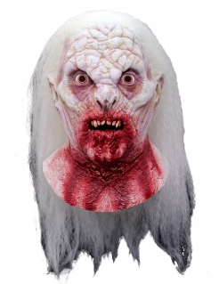 Graf Dracula™-Maske Halloween-Lizenzartikel weiß-rot
