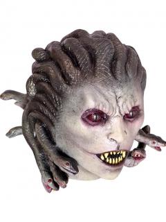 Medusen-Maske Schlangenfrau-Maske bunt
