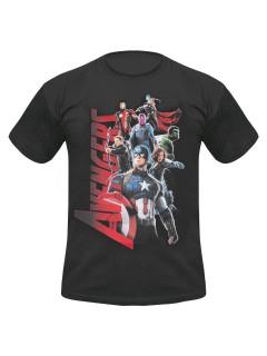 Avengers Age of Ultron T-Shirt Lizenzware schwarz-bunt