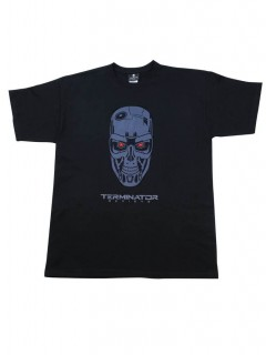 Terminator™-T-Shirt Genisys Lizenzware schwarz-blau