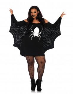 Bezauberndes Spinnenkostüm für Damen schwarz