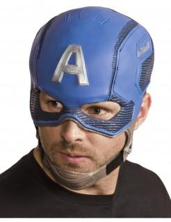 Captain America™-Helm für Erwachsene blau-silber-braun