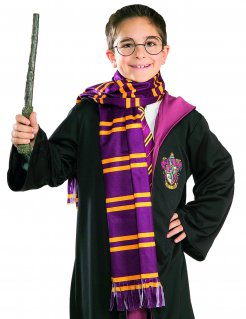 Harry Potter™-Schal Lizenzartikel violett-gelb 149cm