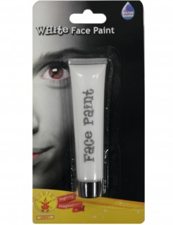 Halloween-Schminke Make-up weiss 25ml