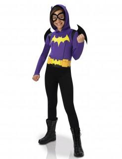 Batgirl™-Kostüm für Mädchen violett-gelb-schwarz