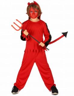Teufel Kinderkostüm rot