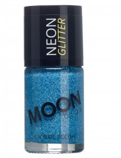 UV-Nagellack Moonglow© neon-blau 15ml