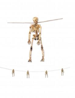 Halloween-Girlande Skelette Halloween-Deko bunt