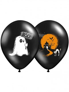 Kleines Gespenst Halloween-Luftballons
